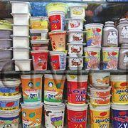 لبنی و آبمیوه و بستنی